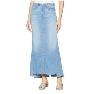 7  for all mankind, Maxi Skirt with Side Kicks 26